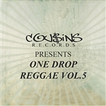 Various Artists - Cousins Records Presents One Drop Reggae Vol 5 DB Cover Art