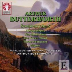 Butterworth / Royal Scottish Nat.Orch. - Sinfonie NR. 5 CD Cover Art