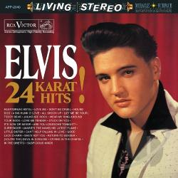 Presley, Elvis - 24 Karat Hits! CD Cover Art