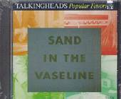 Talking Heads - Popular Favorites 1976-1992: Sand in the Vaseline CD Cover Art