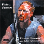 Sherman, R: flute - Flute Sonatas CD Cover Art