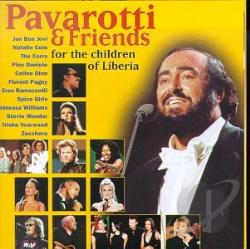 Dion / Pavarotti, Luciano / Spice Girls / Wonder - Pavarotti & Friends for the Children of Liberia CD Cover Art