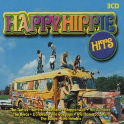 Happy Hippy Hits: 54 Flower Power Hits CD Cover Art