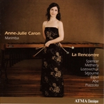 Caron, Anne-Julie - La Rencontre CD Cover Art