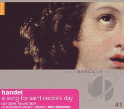 Croft / Crowe / Handel / Musiciens Du Louvre - Handel: A Song for Saint Cecilia's Day CD Cover Art