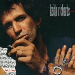 Richards, Keith - Talk Is Cheap CD Cover Art