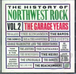 History of Northwest Rock, Vol. 2 CD Cover Art