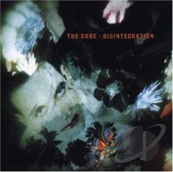 Cure - Disintegration CD Cover Art