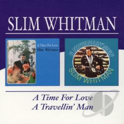 Whitman, Slim - Travelin' Man/Time for Love CD Cover Art