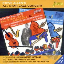 Allen, Steve - All Star Jazz Concert CD Cover Art