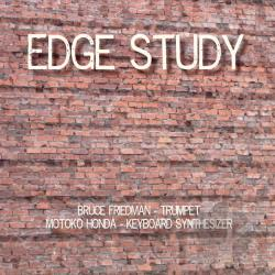 Friedman, Bruce / Motoko Honda - Edge Study CD Cover Art