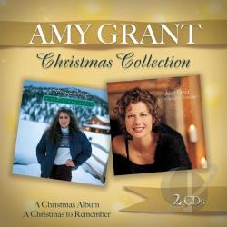 Grant, Amy - Christmas Album/A Christmas to Remember CD Cover Art