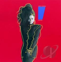 Jackson, Janet - Control CD Cover Art