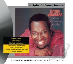 Vandross, Luther - Forever, for Always, for Love CD Cover Art