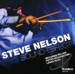 Nelson, Steve - Sound-Effect CD Cover Art