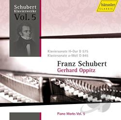 Oppitz, Gerhard / Schubert - Schubert: Piano Works, Vol. 5 CD Cover Art
