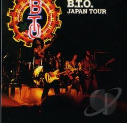 Bachman Turner Overdrive - Japan Tour CD Cover Art