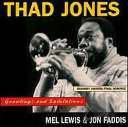 Jones, Thad - Greetings And Salutations CD Cover Art
