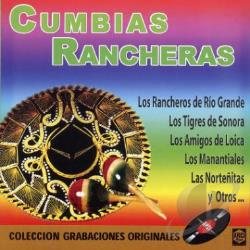 Cumbias Rancheras CD Cover Art