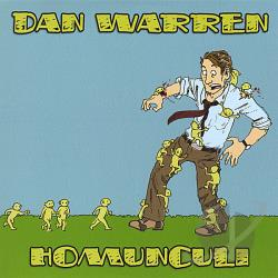 Warren, Dan - Homunculi CD Cover Art