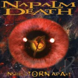 Napalm Death - Inside The Torn Apart CD Cover Art