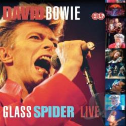 Bowie, David - Glass Spider Live LP Cover Art