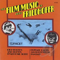 Graunke Symphony Orchestra - Film Music of Hugo Friedhofer CD Cover Art
