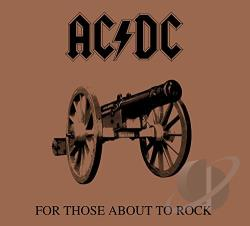 AC/DC - For Those About To Rock We Salute You CD Cover Art
