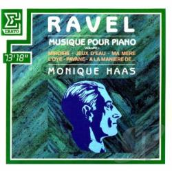 Haas, Monique - Ravel:Piano Music Vol. 1 CD Cover Art