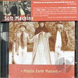 Soft Machine - Middle Earth Masters CD Cover Art