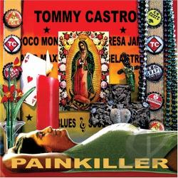 Castro, Tommy - Painkiller CD Cover Art