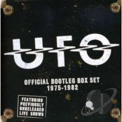 U.F.O. - Official Bootleg Box Set CD Cover Art