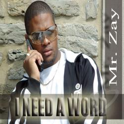 Zay, Mr. - I Need A Word CD Cover Art