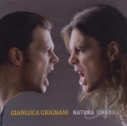 Grignani, Gianluca - Natura Umana CD Cover Art