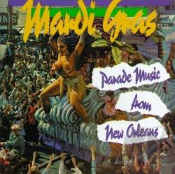 Mardi Gras Parade Music from New Orleans CD Cover Art