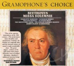 Beethoven / English Baroque Soloists / Gardiner - Beethoven: Missa Solemnis CD Cover Art