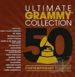 Ultimate Grammy Collection: Contemporary Country CD Cover Art