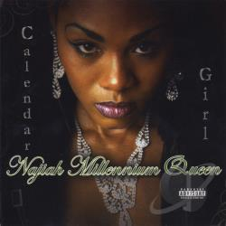 Najiah Millennium Queen - Calendar Girl CD Cover Art