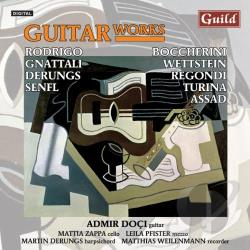 Boccherini / Dociu / Rodrigo / Turina - Guitar Works CD Cover Art