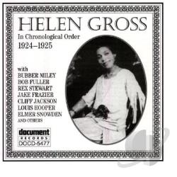 Gross, Helen - 1924-1925 CD Cover Art