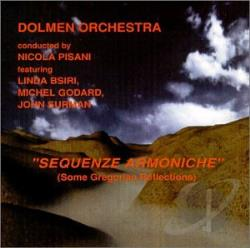 Dolmen Orchestra - Sequenze Armoniche: Some Gregorian Reflections CD Cover Art