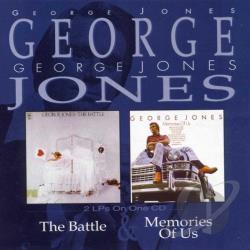 Jones, George - Memories of Us/The Battle CD Cover Art