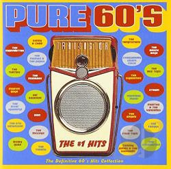 Pure 60's: The #1 Hits CD Cover Art