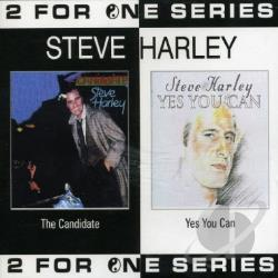 Harley, Steve - Candidate/Yes You Can CD Cover Art