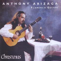 Arizaga, Anthony - Christmas CD Cover Art