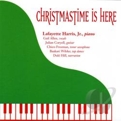 Harris, Lafayette Jr. - Christmastime Is Here CD Cover Art