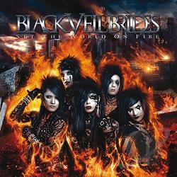 Black Veil Brides - Set the World on Fire CD Cover Art