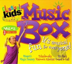 Classical Kids Music Box CD Cover Art