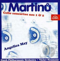 Martinu, B. - Con VC 1/2 CD Cover Art