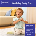 Fisher-Price / Various Artists - Little People: Birthday Party Fun CD Cover Art